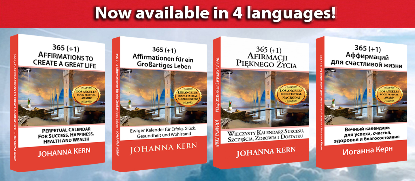 365 Affirmations available in 4 languages!