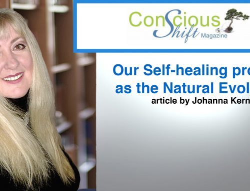 "THE VISION QUEST OF OUR CONSCIOUSNESS – article by Johanna Kern in January 2019 edition of ""Conscious Shift"" Magazine."