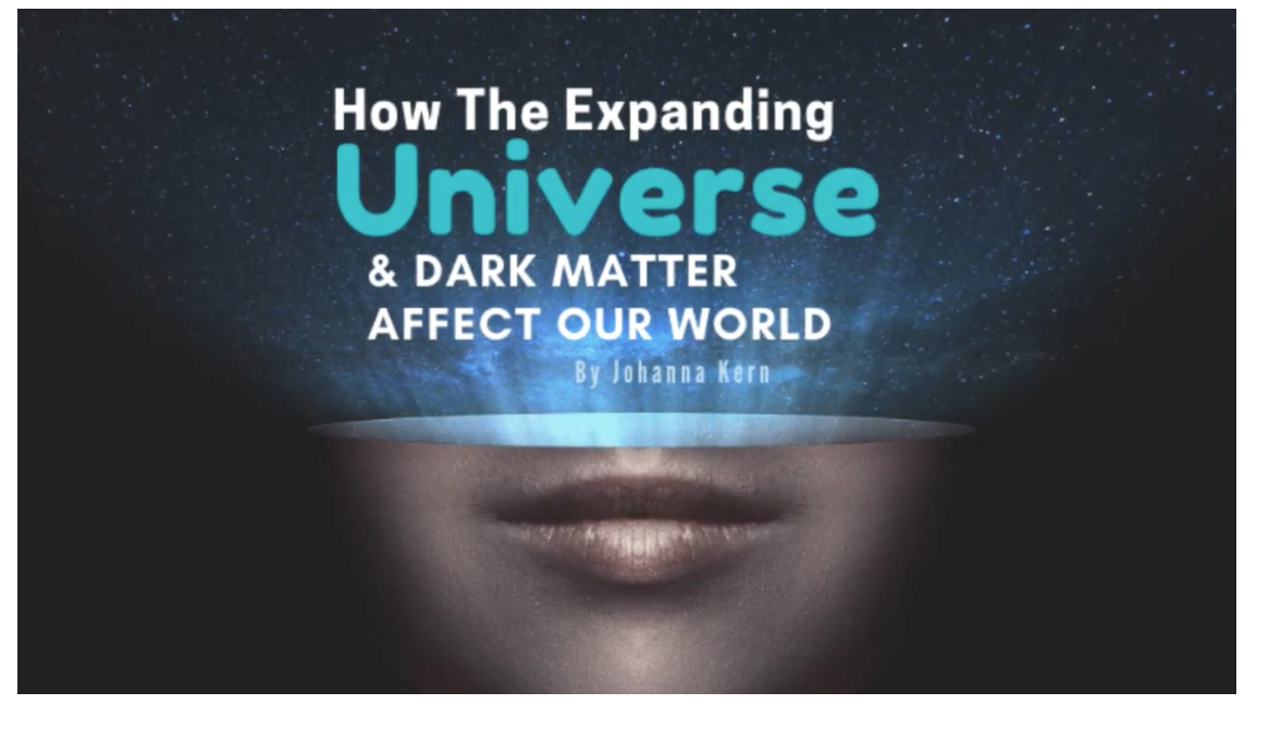 Expanding Universe and Dark Matter effects