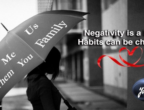 How to Deal With Negativity: Our Own & Coming From Others.