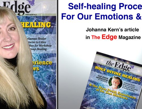 "Self-healing Process: For Our Emotions and Mind – Johanna Kern's article in ""The Edge"" Magazine"