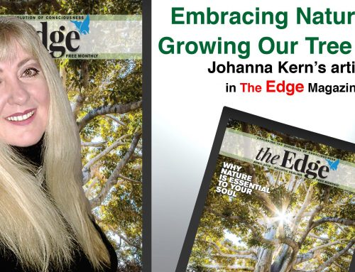 "EMBRACING NATURE AND GROWING OUR TREE OF LIFE: Johanna Kern's article in ""The Edge"" Magazine"