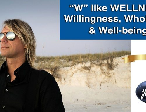 """W"" like WELLNESS: Willingness, Wholeness and Well-being."
