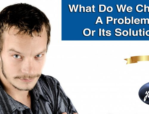 What Do We Want To Choose In Life: A Problem Or Its Solution?