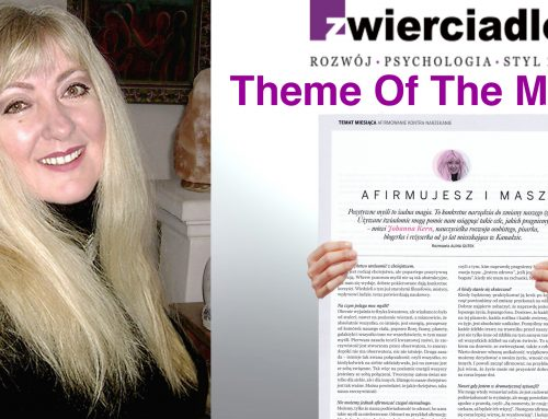 Affirm And Have The Life You Want – an interview with Johanna Kern in major European magazine.